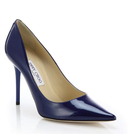 Jimmy Choo Ocean Midnight Blue Pumps Image 0