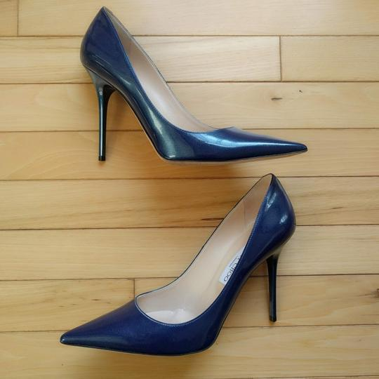 Jimmy Choo Ocean Midnight Blue Pumps Image 2