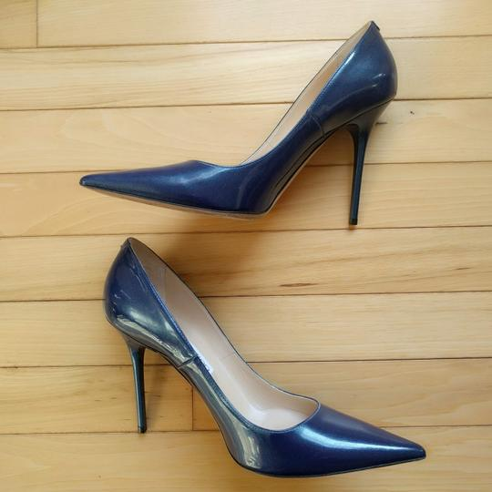 Jimmy Choo Ocean Midnight Blue Pumps Image 3