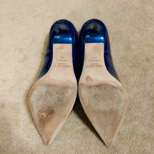 Jimmy Choo Ocean Midnight Blue Pumps Image 5