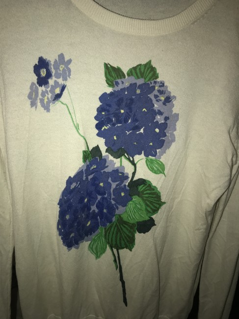 Equipment Floral Silk Chic Fall Boho Sweater Image 4