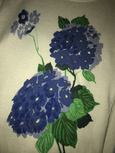Equipment Floral Silk Chic Fall Boho Sweater Image 5