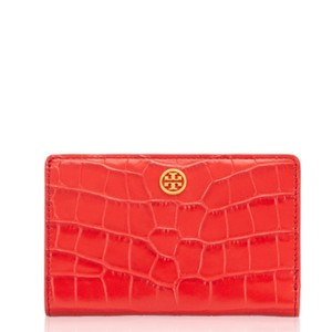 Tory Burch Tory Burch Parker Embossed Medium Slim Wallet
