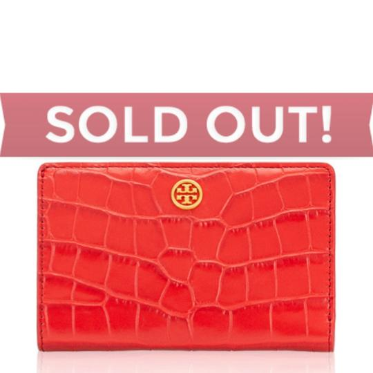 Tory Burch Tory Burch Parker Embossed Medium Slim Wallet Image 1