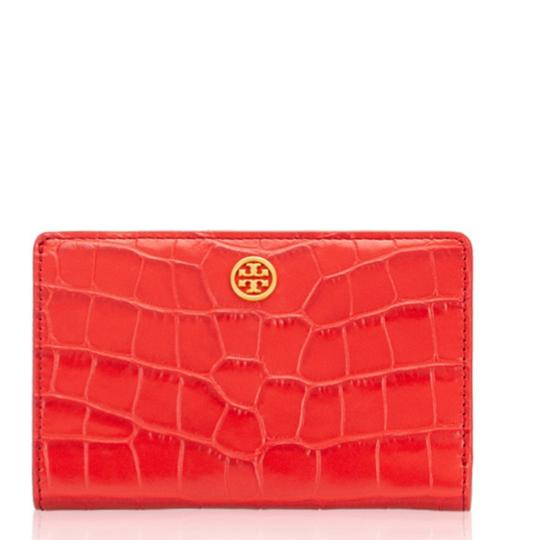 Tory Burch Tory Burch Parker Embossed Medium Slim Wallet Image 5