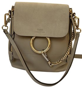 Chloé Taupe Backpack