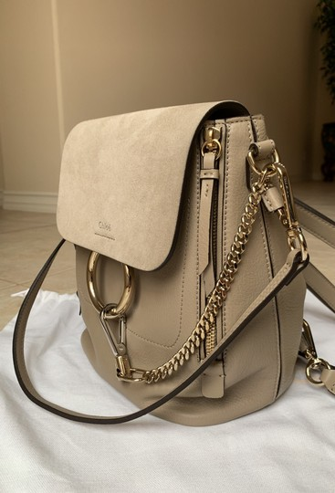 Chloé Taupe Backpack Image 2