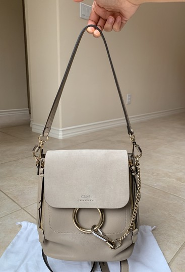 Chloé Taupe Backpack Image 3