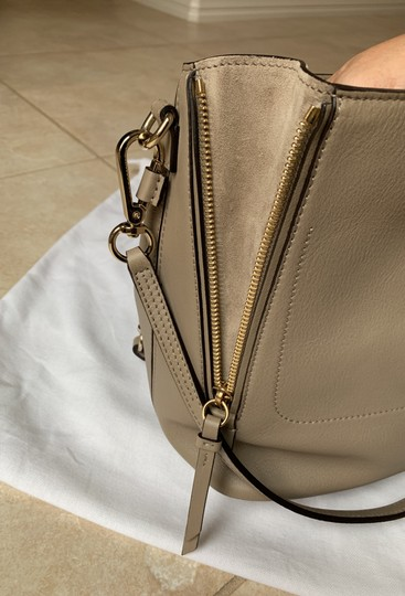 Chloé Taupe Backpack Image 9