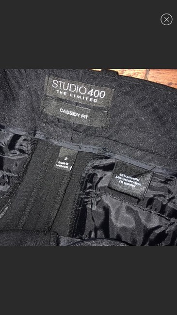 The Limited Straight Pants black Image 3
