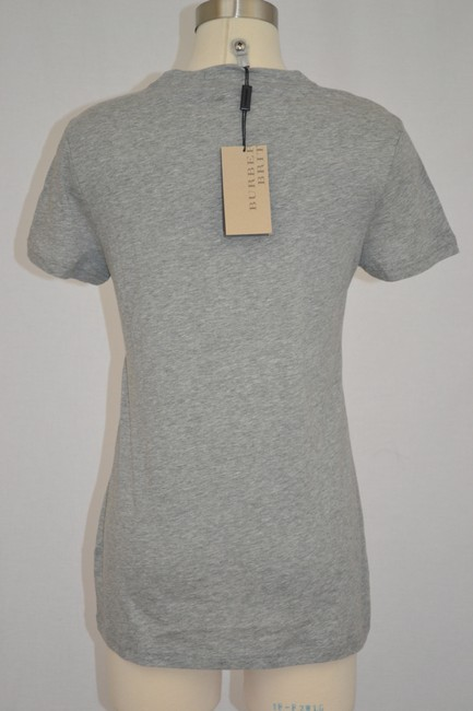 Burberry Brit T Shirt Pale Grey Melange Image 4