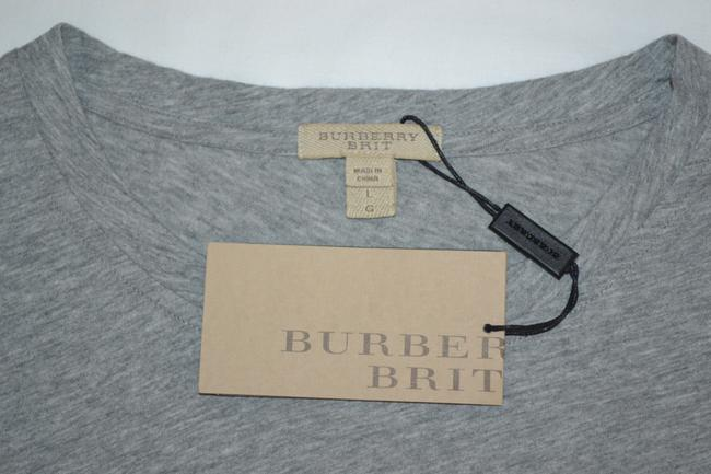 Burberry Brit T Shirt Pale Grey Melange Image 6