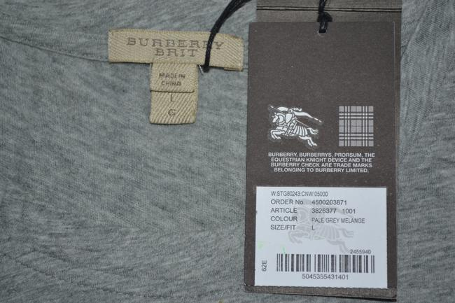 Burberry Brit T Shirt Pale Grey Melange Image 7
