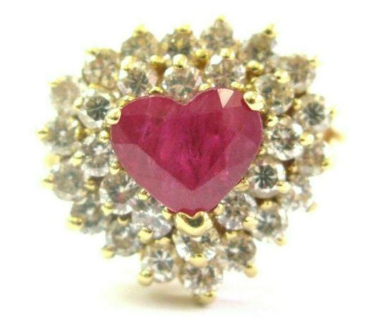 Preload https://img-static.tradesy.com/item/25650050/c-and-c-california-ruby-heart-shape-and-diamond-cocktail-solid-18kt-yellow-gold-315ct-ring-0-0-540-540.jpg