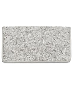 Adrianna Papell Silver/gray Clutch