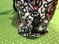 Coach Flowers Hot Tote in White, Black, Pink and Red Image 3