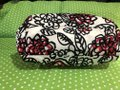 Coach Flowers Hot Tote in White, Black, Pink and Red Image 5