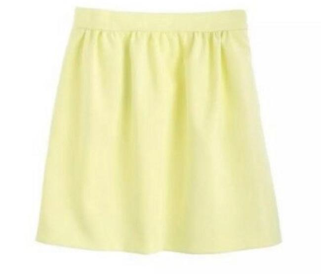 Preload https://img-static.tradesy.com/item/25650125/jcrew-yellow-double-crepe-skirt-size-6-s-28-0-0-650-650.jpg