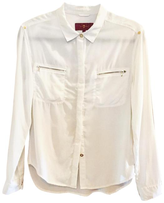 Preload https://img-static.tradesy.com/item/25650136/7-for-all-mankind-cream-silk-zip-pocket-button-blouse-size-4-s-0-1-650-650.jpg