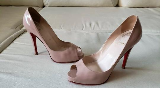 Christian Louboutin Nude Pumps Image 11