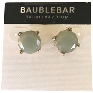 BaubleBar Round Stone Style Stud Earrings