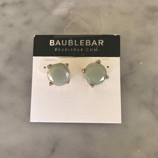 BaubleBar Round Stone Style Stud Earrings Image 1