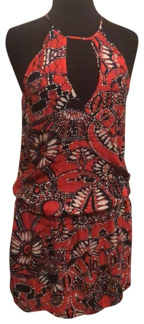 Rory Beca short dress Black/Red/White on Tradesy Image 0