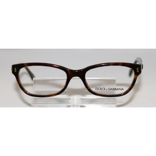 Dolce&Gabbana New Authentic Dolce & Gabbana DG 1205 502 Havana Eyeglasses 50 17 135 Image 1