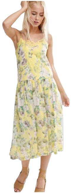 Preload https://img-static.tradesy.com/item/25650273/asos-canary-yellow-vintage-floral-lace-midi-mid-length-casual-maxi-dress-size-8-m-0-1-650-650.jpg