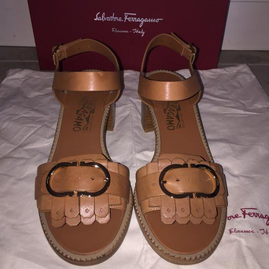 Salvatore Ferragamo Brown Sandals Image 1