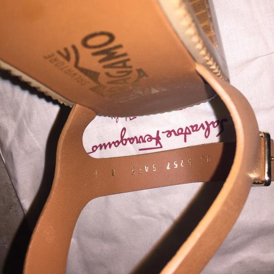 Salvatore Ferragamo Brown Sandals Image 10