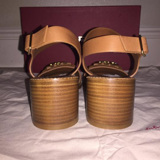 Salvatore Ferragamo Brown Sandals Image 2