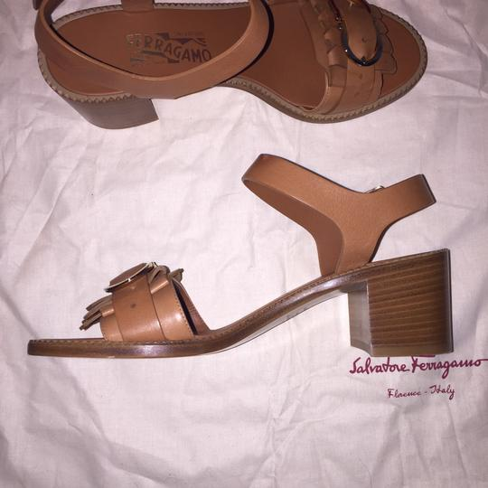 Salvatore Ferragamo Brown Sandals Image 4