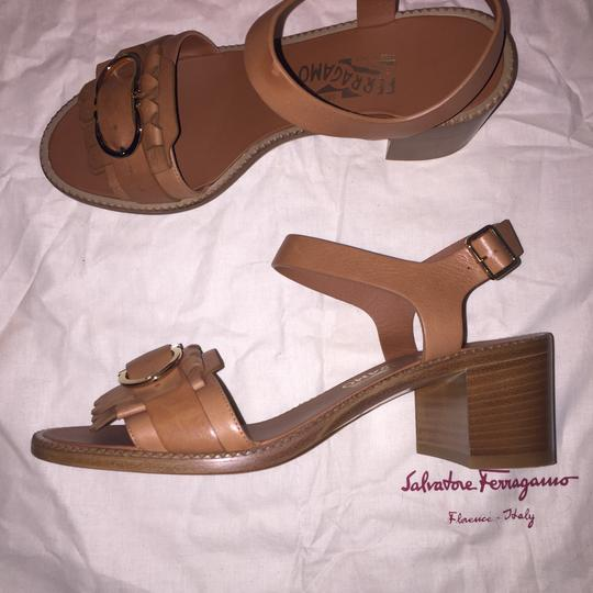 Salvatore Ferragamo Brown Sandals Image 5
