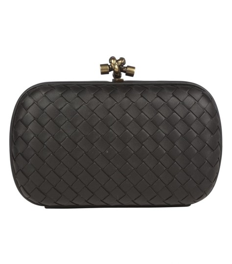 Bottega Veneta Black Clutch Image 1