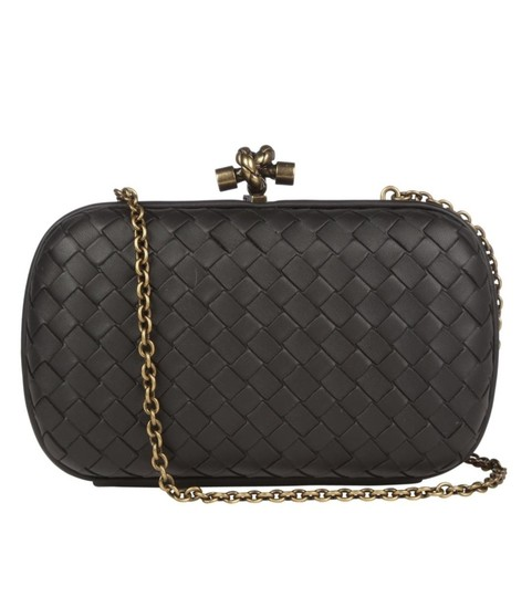 Bottega Veneta Black Clutch Image 2