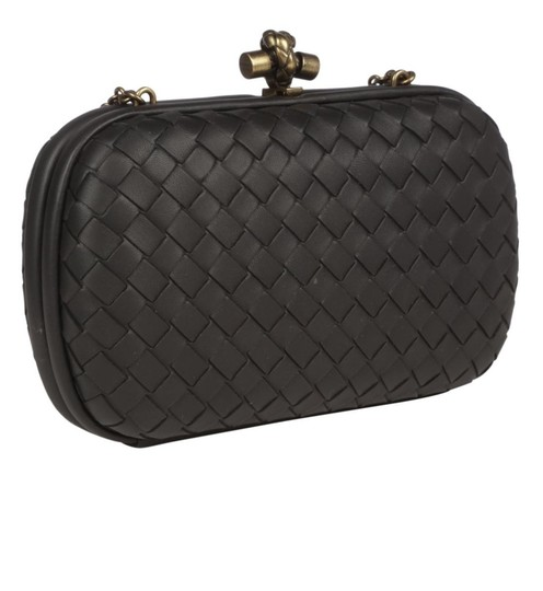 Bottega Veneta Black Clutch Image 3