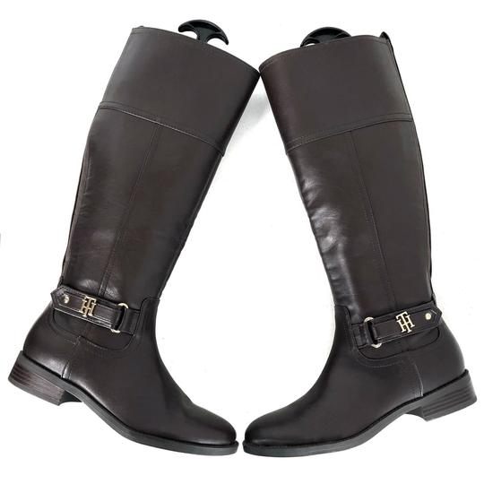 Tommy Hilfiger Brown Boots Image 7