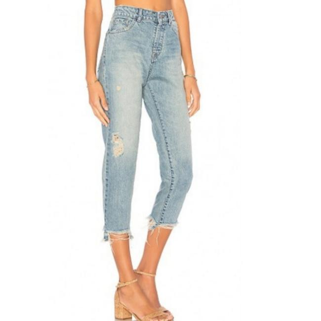 DL1961 Capri/Cropped Denim-Distressed Image 0