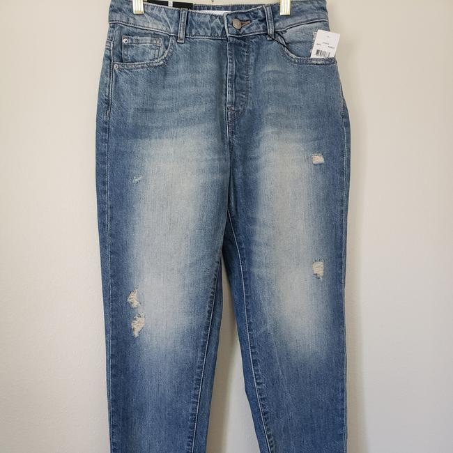 DL1961 Capri/Cropped Denim-Distressed Image 4