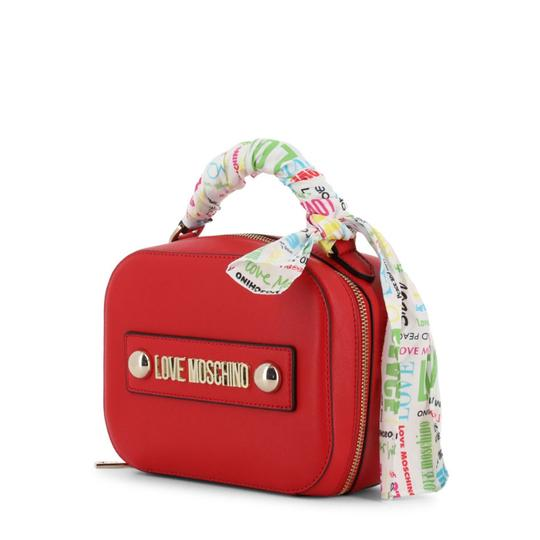 Love Moschino Satchel in Red Image 1