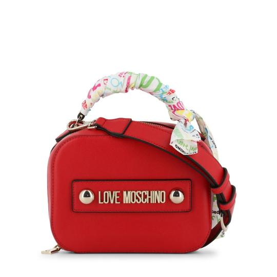 Love Moschino Satchel in Red Image 3