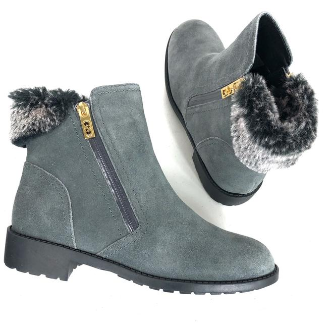 Item - Grey Ankle Boots/Booties Size US 8.5 Regular (M, B)