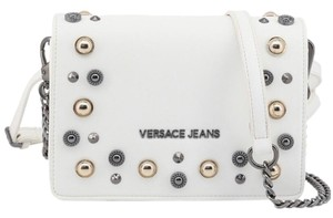 Versace Jeans Collection white Messenger Bag