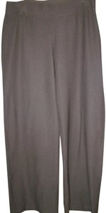 Eileen Fisher Wide Leg Pants Taupe