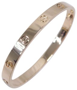 Cartier Rose Gold Size 18 Love Bracelet