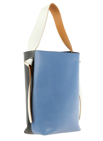 Céline Twisted Cabas Calfskin W/ Pouch Tote in Multicolor Image 1