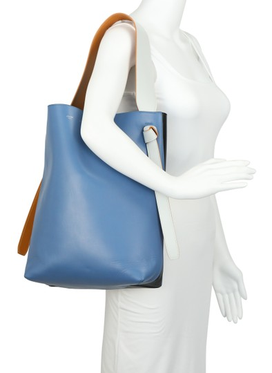 Céline Twisted Cabas Calfskin W/ Pouch Tote in Multicolor Image 11