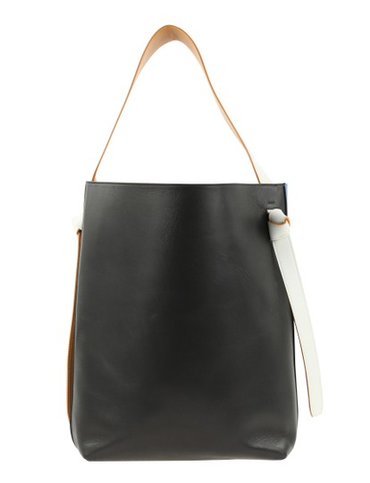 Céline Twisted Cabas Calfskin W/ Pouch Tote in Multicolor Image 2