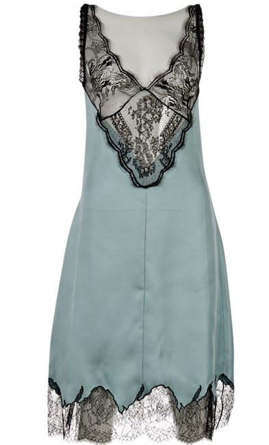 Item - Light Green Silk Lace Mid-length Casual Maxi Dress Size 6 (S)